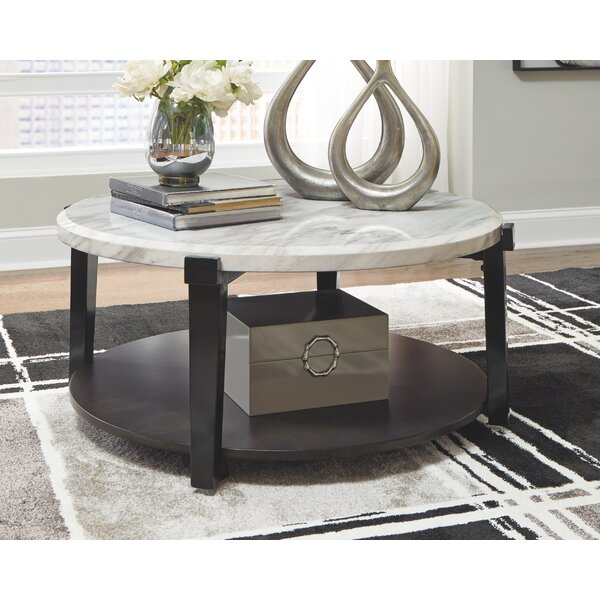 Aleetha Floor Shelf Coffee Table By Latitude Run