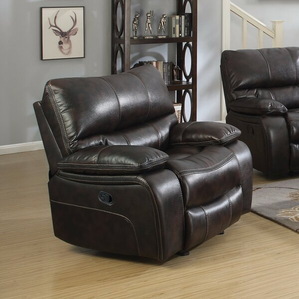 Price Sale Amenta Supremely Relaxing Manual Glider Recliner