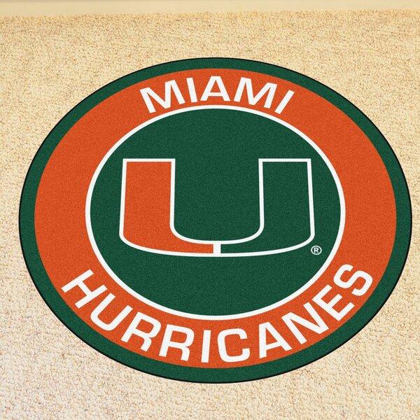 NCAA University of Miami Roundel Doormat by FANMATS