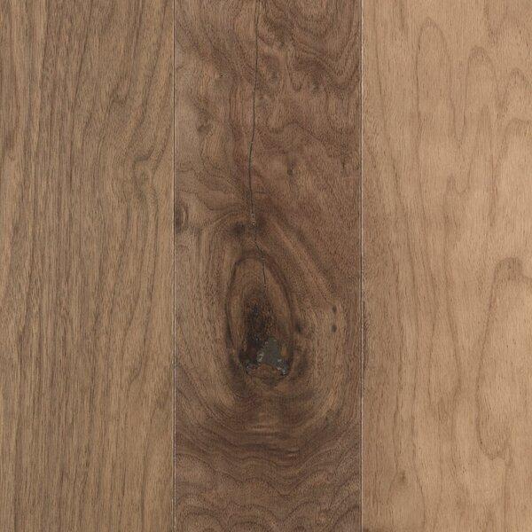 La Grotta 5 Engineered Hardwood Flooring in Almond Swirl Walnut by Mohawk Flooring