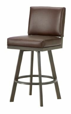 Pasadena 30 Swivel Bar Stool by Iron Mountain