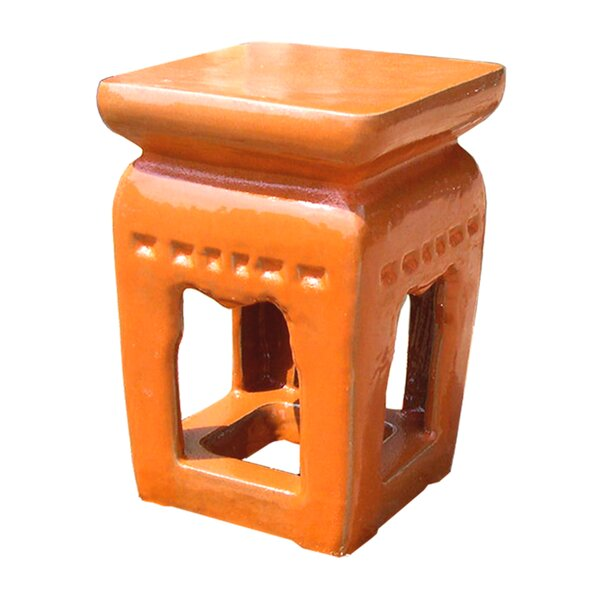 Ming Garden Stool by Emissary Home and Garden