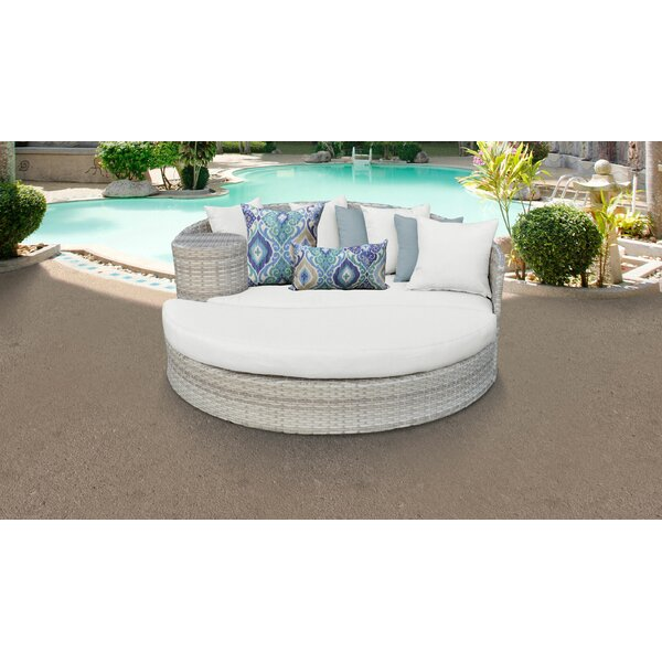 Genevieve Patio Daybed with Cushions by Rosecliff Heights