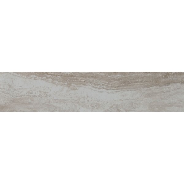 Bernini Camo 4 x 18 Porcelain Field Tile in Gray by MSI