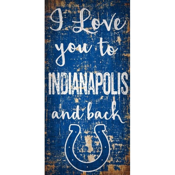 I Love You To Sign Wall Décor by Fan Creations
