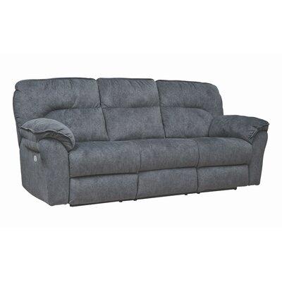 "96"""" Pillow Top Arm Reclining Sofa Southern Motion Body Fabric: Pasadena Elk, Motion Type: Power Headrest -  763-61P-24221"