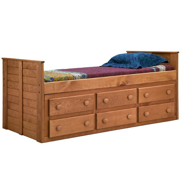 Chea Twin Mates & Captains Bed with Storage by Harriet Bee