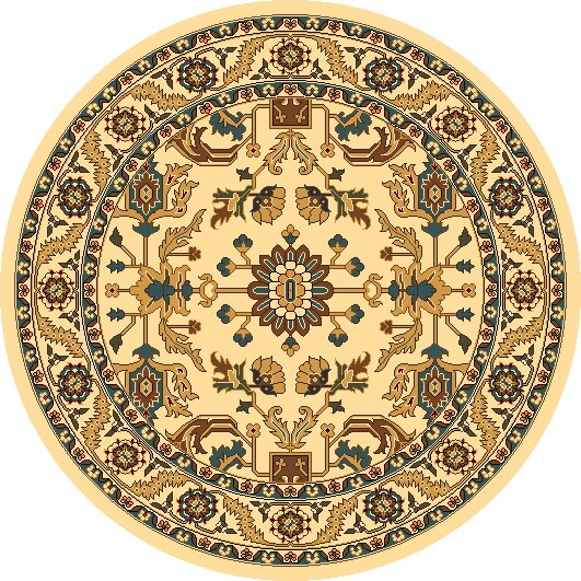 Vandergrift Ivory Serapi Area Rug by Charlton Home