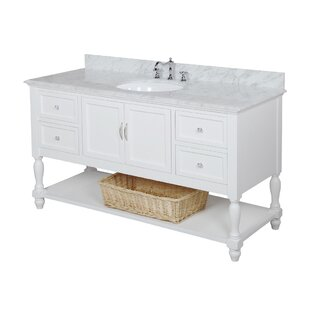 Read Reviews Beverly 60 Single Bathroom Vanity Set ByKitchen Bath Collection