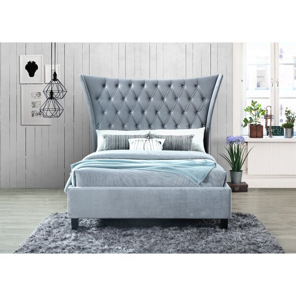 Bette Upholstered Standard Bed by Everly Quinn