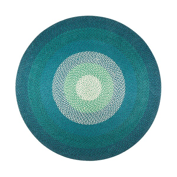 Fendley Hand-Woven Blue Area Rug by Bungalow Rose