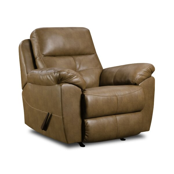 Barnett Manual Rocker Recliner by Simmons Upholstery by Alcott Hill