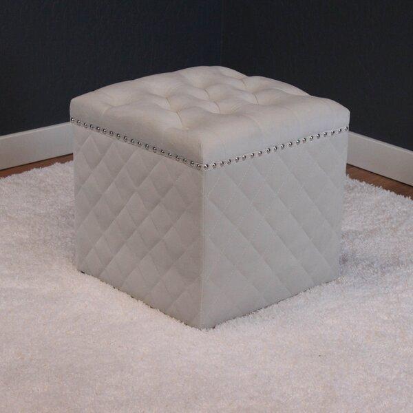 Westbrooks Cube Ottoman by Willa Arlo Interiors
