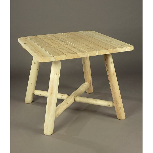 Solid Wood Dining Table by Rustic Natural Cedar Furniture