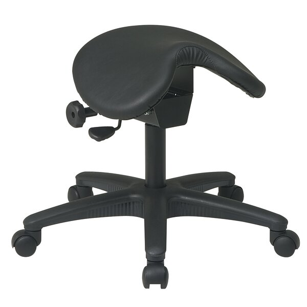Work Smart Ergonomic Stool by Office Star Products