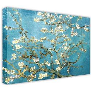 Almond Blossom by Vincent Van Gogh Painting Print on Wrapped Canvas