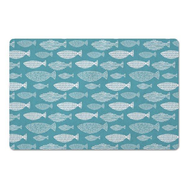 Groggan School of Fish Kitchen Mat