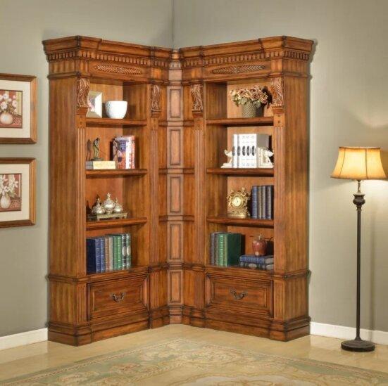 Gunnersbury Oversized Bookcase Set by Astoria Grand
