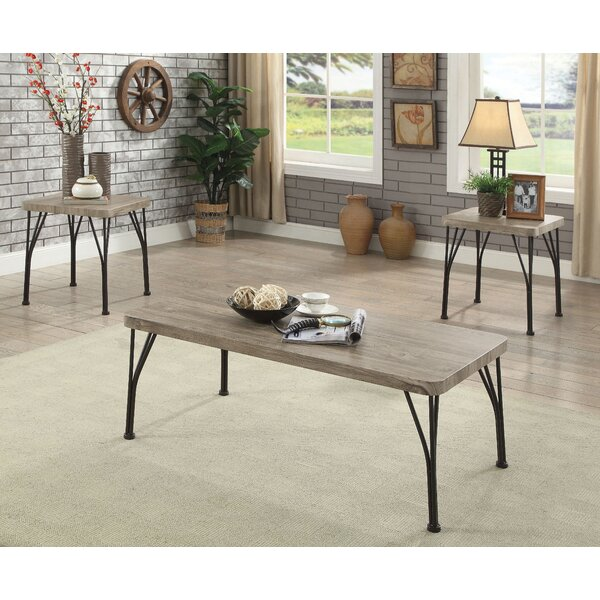 Boren 3 Piece Coffee Table Set by Williston Forge