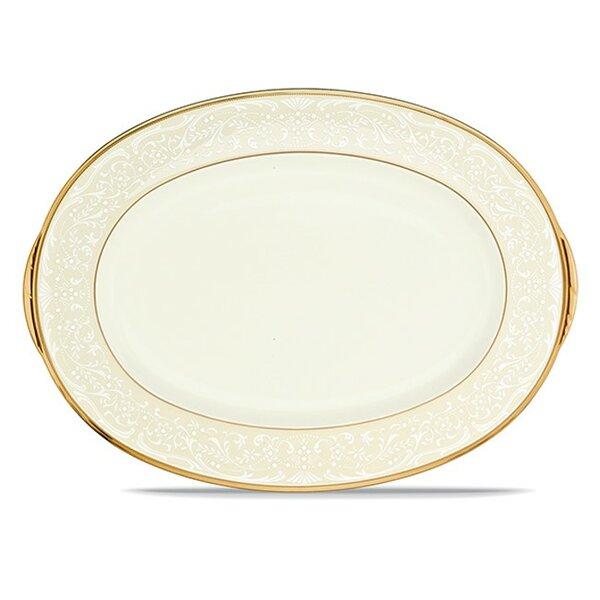 White Palace Oval Platter by Noritake