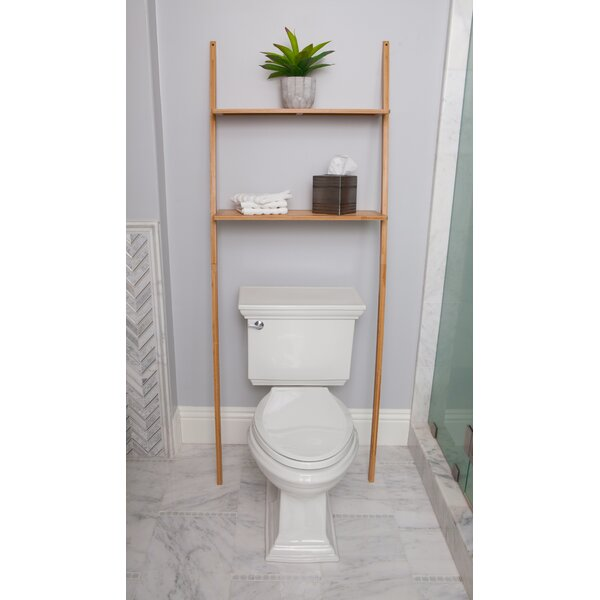 25.98 W x 69.09 H Over the Toilet Storage by BEST LIVING INC