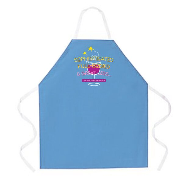 Sophisticated Apron in Colombia Blue by Attitude Aprons by L.A. Imprints
