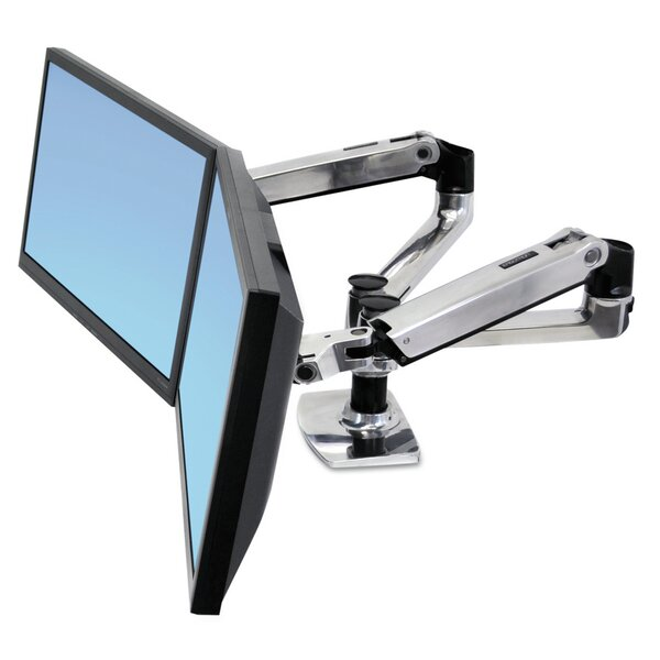 LX Dual Side-by-Side Arm by Ergotron