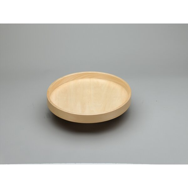 Banded Wood Full Circle Lazy Susan by Rev-A-Shelf
