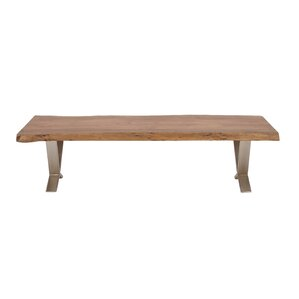 Wood and Metal Bench by Cole & Grey