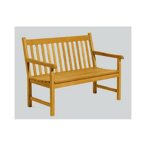 Maglio Grade-A Luxurious  Teak Garden Bench by Highland Dunes