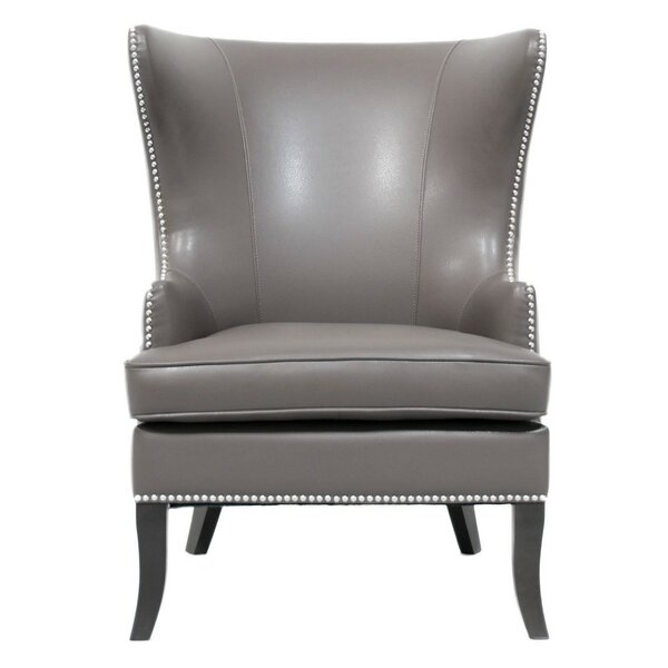 Merced Wingback Chair by Rosdorf Park