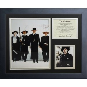 Tombstone II Framed Photographic Print by Legends Never Die