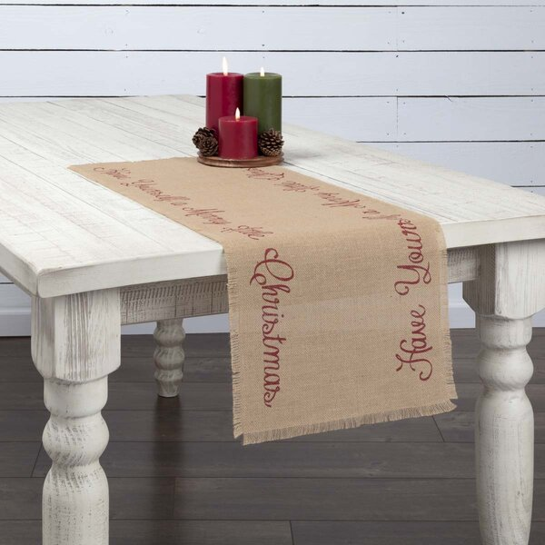 Altha Merry Little Christmas Table Runner by The Holiday Aisle