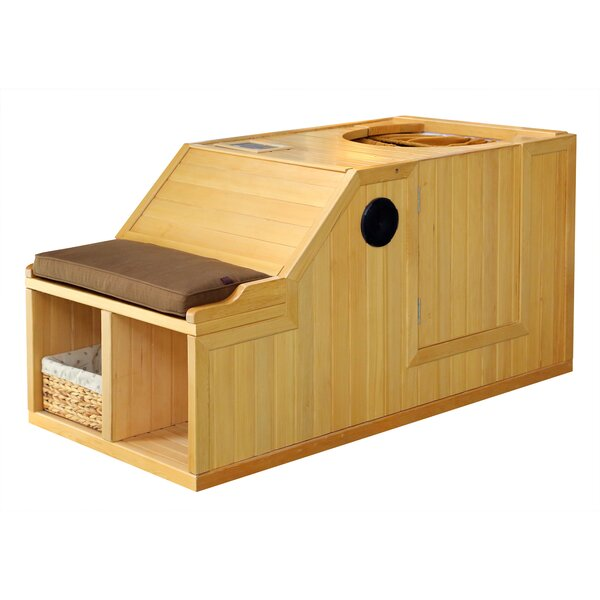 Goldstar 1 Person FAR Infrared Sauna by Radiant Saunas
