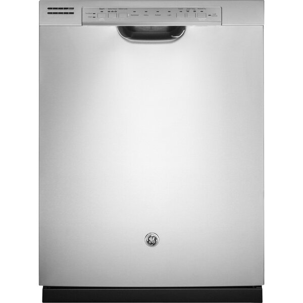 24 48 Dba Built In Dishwasher With Front Controls By Ge Appliances.