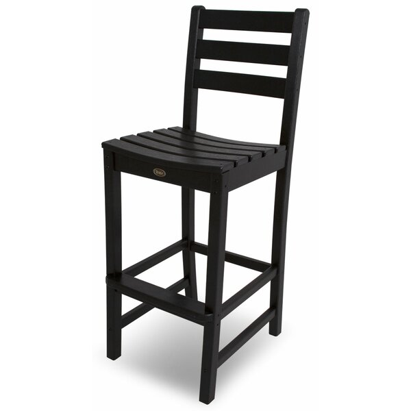 Monterey Bay 47 Patio Bar Stool with Cushion by Trex Outdoor