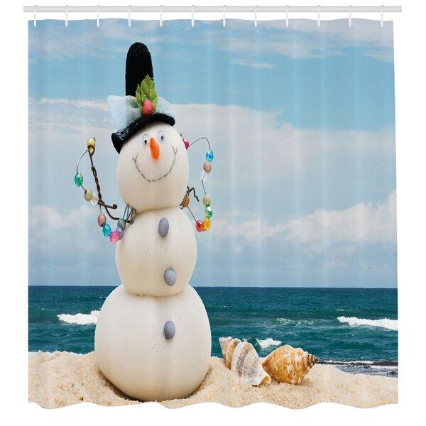 Snowman Shower Curtain Sets Wayfair