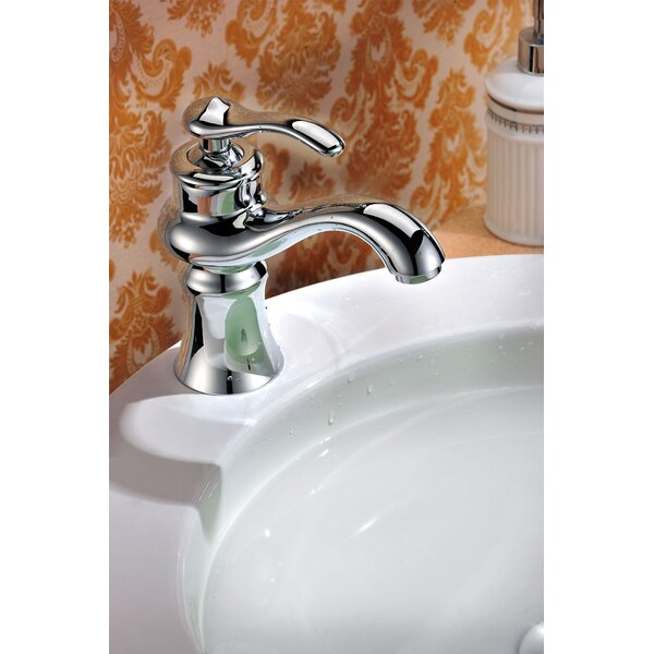 Flora Stainless Steel Single Hole Bathroom Faucet By Avanities