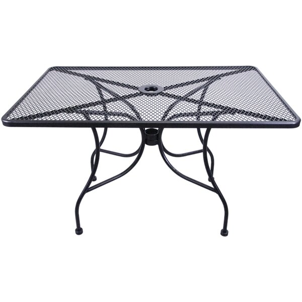 Mesh Dining Table by H&D Restaurant Supply, Inc.