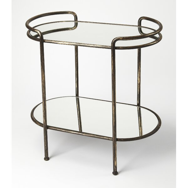 Minarik Mirror Bar Cart by Brayden Studio