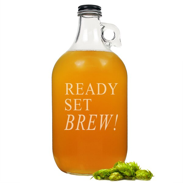 Ready, Set, Brew! Growler by Cathys Concepts