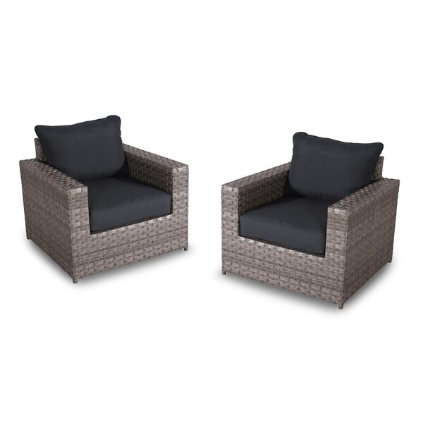 Kordell Patio Chair with Cushions (Set of 2) by Sol 72 Outdoor
