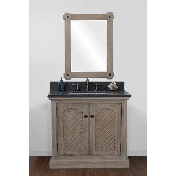 Friedrich Solid Recycled 37 Single Bathroom Vanity Set