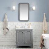 Kylan 30 Single Bathroom Vanity Set with Mirror byAlcott Hill