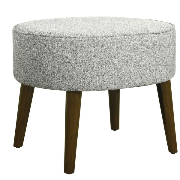Houle Textured Ottoman by George Oliver