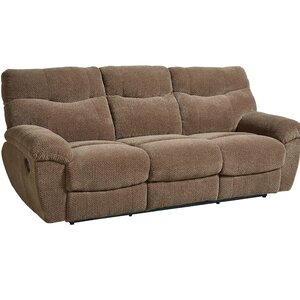 Neponset Taupe Brown Manual Motion Reclining Sofa by Andover Mills