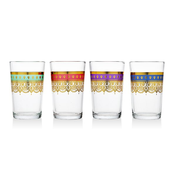 8.5 oz. Highball Glass (Set of 4) by Studio Silversmiths