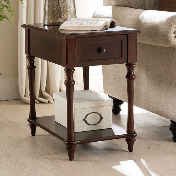 Rindham End Table by Alcott Hill