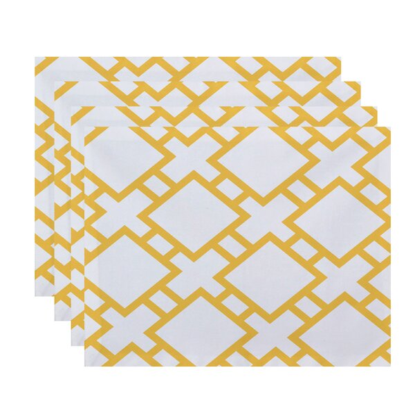 Felice Square Placemat (Set of 4) by Ivy Bronx