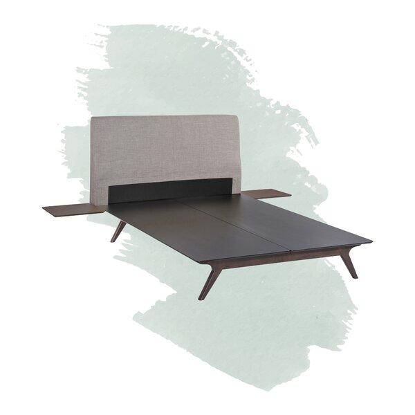 Arabella Upholstered Platform Bed by Foundstone